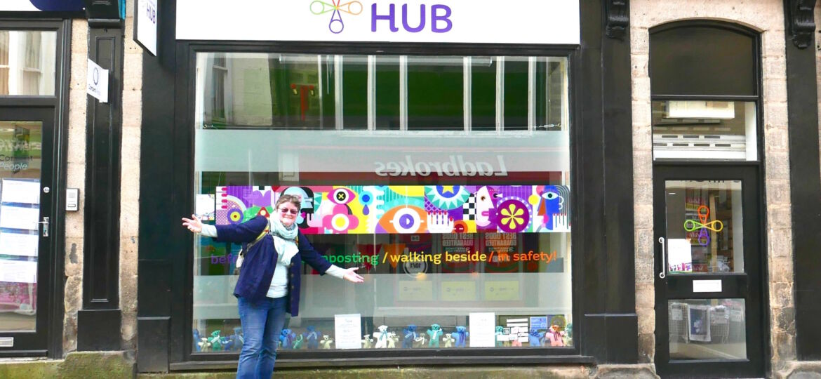 Harrogate Hub, day in the life, safe space, welcome for all