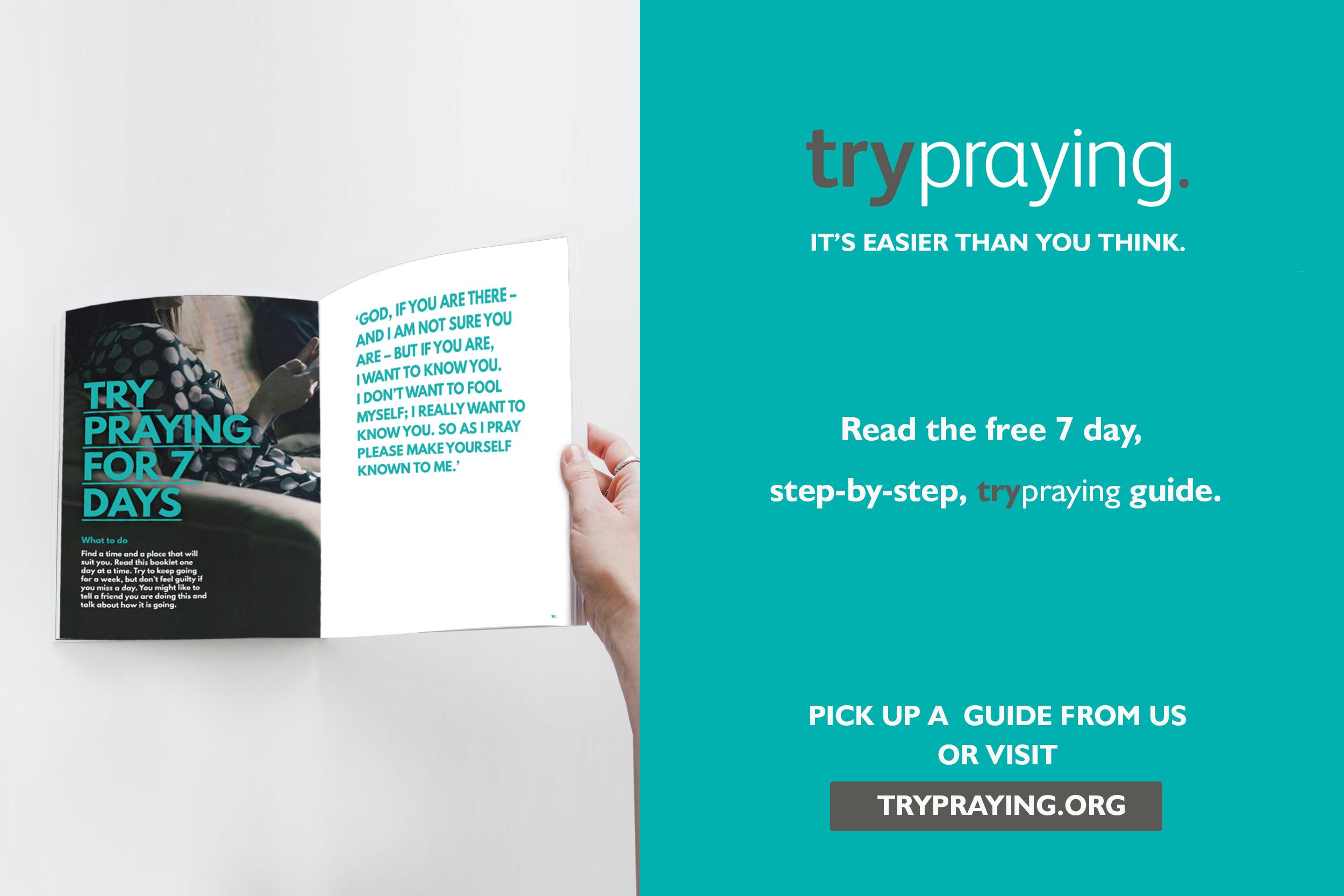 Try praying the Harrogate Hub